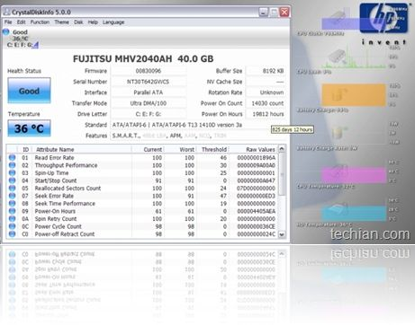 Prevent data loss: Monitor your hardrive's health status with CrystalDiskInfo