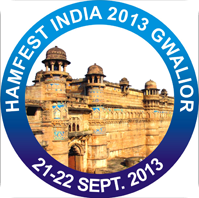 Hamfest India 2013 on September 21, 22 at Gwalior, Madhya Pradesh