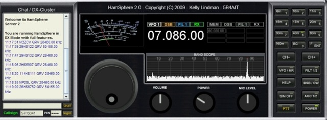 Hamsphere: Virtual Ham Radio transceiver on your PC | techian com
